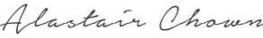 Alastair Chown's Signature