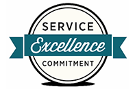 Service, excellence and commitment