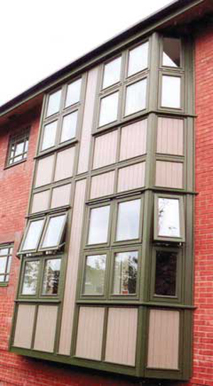 Flush Casement Screens and Curtain Walls